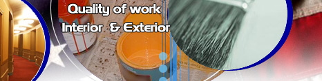 Quality of work Intirior and Extirior